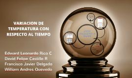 Copy of VARIACION DE TEMPERATURA CON RESPECTO AL TIEMPO