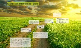 Condicionamiento Operante - Skiner