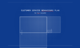 customer service behaviour plan