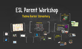 ESL Parent Workshop