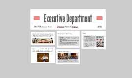 Executive Department