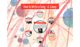 How to Write a Song  -A. Casey