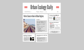 Copy of Urban Ecology Daily