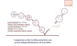 Copy of Compuestos orales insulina-miméticos que actúan independient