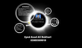Copy of Copy of syed asad bukhari cv