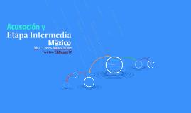 Etapa Intermedia: Aspectos críticos