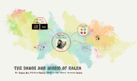 The dance and music of Salsa