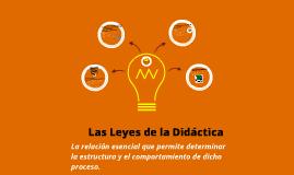 Copy of Las Leyes de la Didáctica.