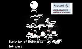 Evolution of Enterprise Software