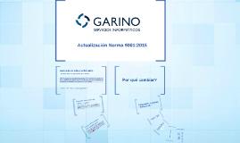 Actualización de la Norma 9001:2015
