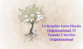 Copia de La Relación Entre Diseño Organizacional Y El Tamaño Y Su Gir