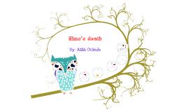 Elmo's death by asia oviedo