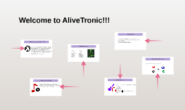 Welcome to AliveTronic!!!