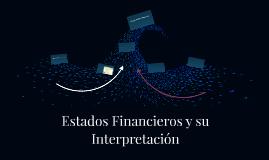 Estados Financieros y su Interpretación