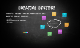 Copy of Creating Culture