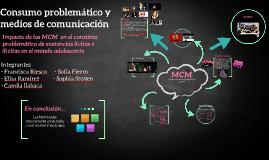 Consumo problematico y medios de comunicación