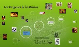 Los orígenes de la musica.