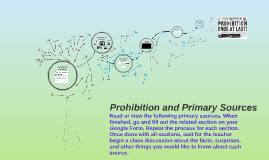 Copy of Prohibition and Primary Sources