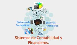 Sistemas de Contabilidad y Financieros.