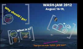 WASH-JAM 2012