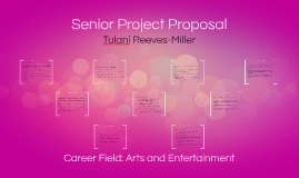 Senior Project Proposal