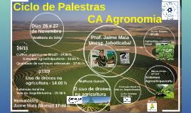 Ciclo de Palestras CA Agronomia
