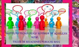 Copy of RELACIONES PUBLICAS EXTERNAS UNIDAD 4