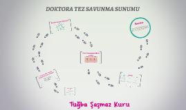 DOKTORA SAVUNMA SUNUMU