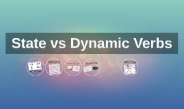 Stative vs Dynamic Verbs