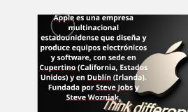 Apple es una empresa multinacional estadounidense que diseña
