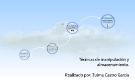 Copy of Técnicas de manipulación y almacenamiento.