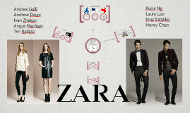 ZARA GU Strategy Presentation