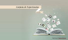 Copy of Mi Carpeta de Experiencias