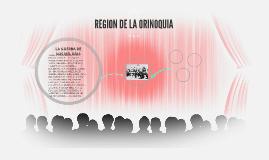 REGION DE LA ORINOQUIA