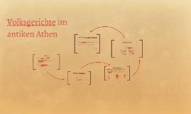 Volksgerichte im antiken Athen