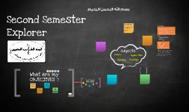 Copy of Second Semester