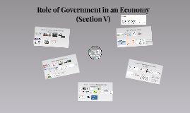 IG-5 Role of Government in an Economy (Section V)
