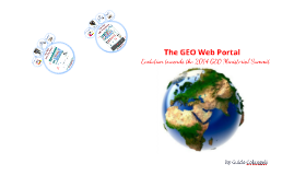 The New GEO Web Portal