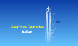 Italian Study Abroad (with 230)