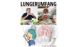 LUNGERUMFANG
