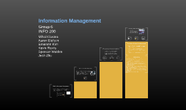 Information Management