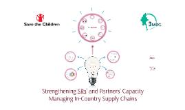 Strengthening SR's  & Partners Capacity in Managing In-Count