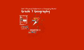 Grade 7 Geography