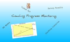 Coaching: Progress Monitoring