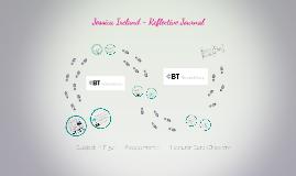 Jessica Ireland Reflective Journal