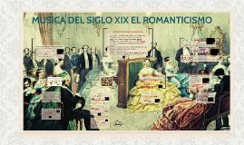 MÚSICA DEL SIGLO XIX