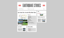 EARTHQUAKE STRIKES