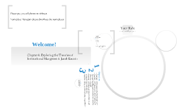 Copy of Exploring the Theories of Instructional Management: Jacob Kounin