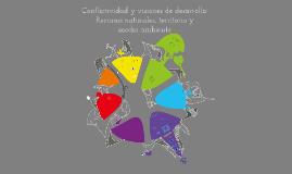 Conflictividad y visiones de desarrollo: recursos naturales, territorio y medio ambiente