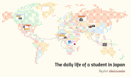 The daily life ofa student in Japan